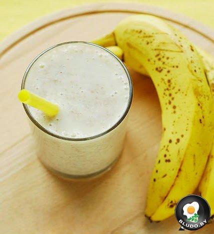 Как сделать молоко с бананом