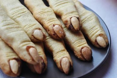 съели пальцы