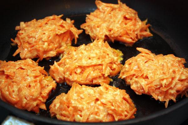 Морковные котлеты из сырой моркови рецепт пошагово
