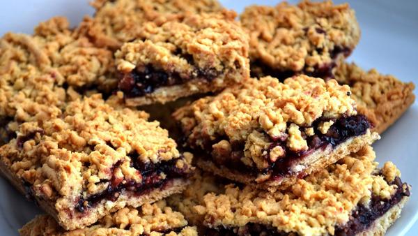 Вкусное песочное печенье с повидлом рецепты