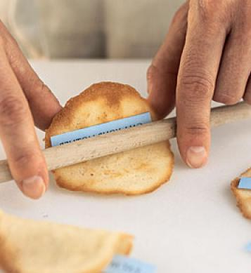 Печенье с пожеланиями своими руками рецепт