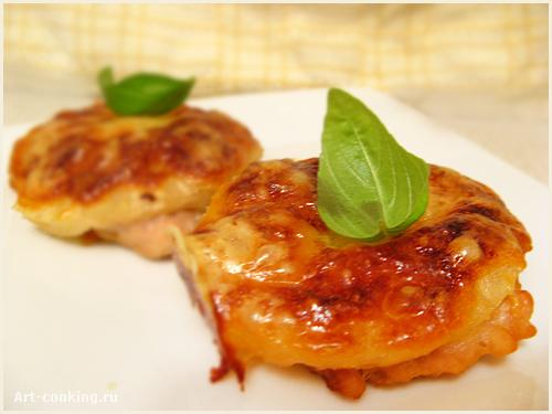 Рецепт запеченной свинины с ананасами