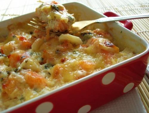креветки в соусе в духовке рецепт